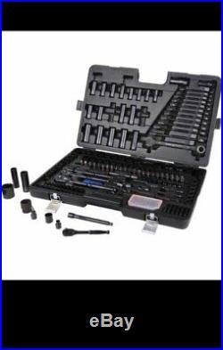 Halfords Advanced BLACK LTD EDITION 200 Piece Socket Ratchet Spanner Set Tool