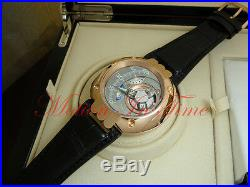 Harry Winston Opus 5 V Satellite Hours 18kt Rose Gold Limited 45 Pieces 50mm
