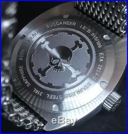 Helson Buccaneer Limited Edition 100 Pieces 45mm Swiss ETA Automatic 500m Diver