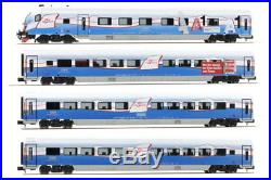 Hobbytrain H25214+H25215, 8 Pieces Set Railjet Ski Austria, N Gauge, New Ovp