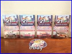 Hot Wheels 21st Nationals Atlanta Convention SET Of 4 Cars. Plus kombi patch