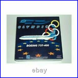 INFLIGHT 1/200 BOEING 737-400 OLYMPIC LIMITED EDITION (312 pieces)ITEMAV2734001