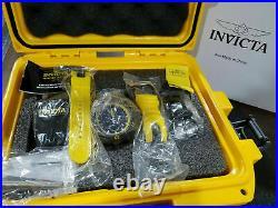 Invicta 52mm Men's Reserve Venom BLACK LABEL Swiss Chrono With 4-Piece Band Watc