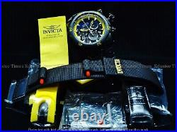 Invicta Reserve 54mm Venom Triple Black Label Swiss Chrono with 3-Piece Band Watch