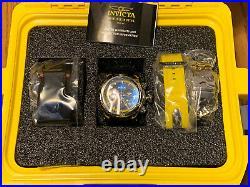 Invicta Yellow Reserve 54mm Venom Platinum Label Swiss 3-Piece Band & Dive Case
