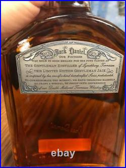 Jack Daniels Liter USA Version Gentleman Jack Time Piece Limited Edition No Gold