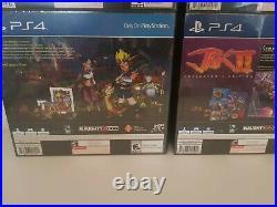 Jak And Daxter, Jak Ii, Jak III & Jak X Limited Run Collectors Edition&plus Ps4