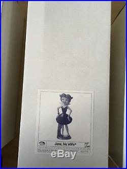 Jetsons Maquette Statue 5 Piece Set Ltd 500 Sold Out Retail $1700 Free S&h