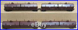 K-Line K676-1891 PRR/Pennsylvania 4 Piece Coil Car Set withCoils O-Gauge USED