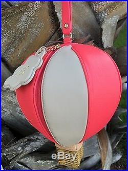 Kate Spade Hot Air Balloon Wristlet Conversation Piece 100% Authentic Rare
