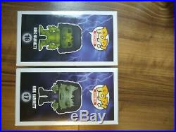 Kirk Hammett Monsters #16-17 Funko Pops, 1008 Pieces Limited Edition, NM/M