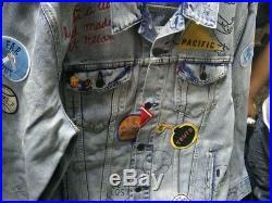 LEVI'S Limited Edition Patch Graffiti Trucker Jacket Size XL California NWT $400