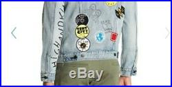 LEVI'S Limited Edition Patch Grafitti Trucker Jacket