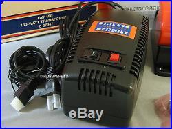 LIONEL 180 WATT 2 PIECE TRANSFORMER wire power pack supply track GW-180 6-37947