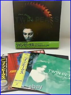 Laserdisc Twin Peaks box 3-piece set Complete withobi Japan ver rare David Lynch