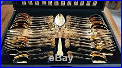 Limited edition, Gold Plated, Viners 44 piece cutlery/canteen set