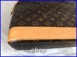 Louis Vuitton Alma Voyage MM Travel Bag Limited Edition Rare Piece