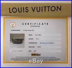 Louis Vuitton Limited Edition Monogram Denim Patch Pouch in Black Shoulder Pouch