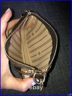 Louis Vuitton Limited Edition mini pochette Accessories Patch Canvas Pouch
