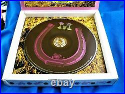MADONNA MUSIC LIMITED EDITION TAIWAN BOX SET CD with PROMO PATCH & BOOKLET 2000