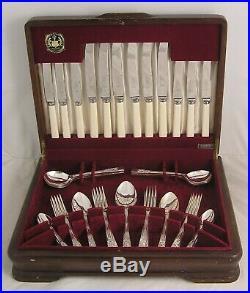 MAYFAIR Design ENSEE LTD SHEFFIELD Silver Service 44 Piece Canteen of Cutlery