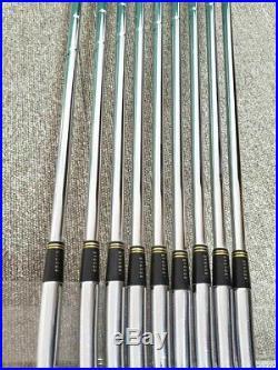 MIZUNO Pro MS-801 DG-R400 #3-P + SW (9x pieces) Nickel Yoro LTD EDITION / RARE