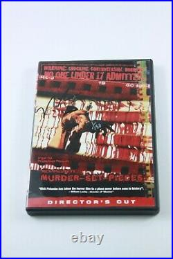 MURDER SET PIECES DVD Rare SIGNED BY THE DIRECTOR Director's Cut LIMITED 1/150