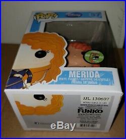 Merida Funko Pop 2013 SDCC Metallic Disney Pixar Brave Limited Edition 480 piece