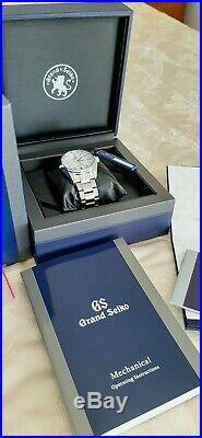 Mint Grand Seiko Sbgr319 Limited Edition (350 Pieces Worldwide) Full Set
