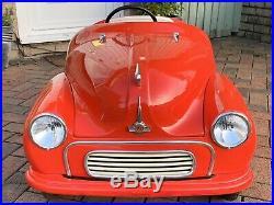 Morris Minor Junior Pedal Car Limited Edition One Of 56 Pieces Austin J40