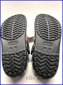 NEW Bayaband KISS Crocs Mens Shoes Size 8M Limited Edition memorabilia 5-Pieces