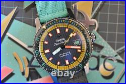 NEW! Zodiac x Worn and Wound Super Sea Wolf Limited Edition of 182 Pieces Z09282