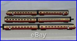 N Scale KATO K 11045 SBB RAe II Gottardo TEE Red & Cream Colored 6-Piece Set