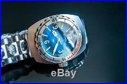 New Vostok Amphibia 1967 Blue face Diver Watch Limited Edition 500 pieces