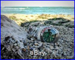 New Vostok Amphibia 1967 Green face Diver Watch Limited Edition 500 pieces