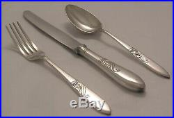 OPHELIA Design ELKINGTON & CO LTD Silver Service 65 Piece Canteen of Cutlery