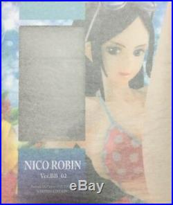 One Piece P. O. P LIMITED EDITION Nico Robin ver. BB 02 figure Megahouse authentic