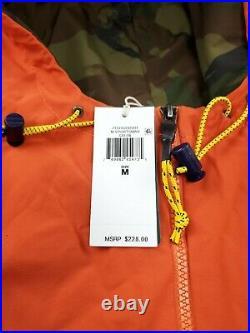 POLO RALPH LAUREN Men's Jacket Medium Sportsman Polar Fleece Anorak Pullover NWT