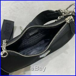 PRADA Nylon Re-Edition 2005 Shoulder Bag Black / Rare Piece