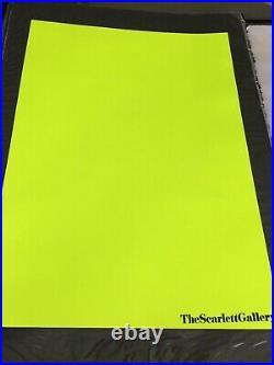 PURE EVIL'Scarlett Edition' ltd 10 pieces! / neon yellow / very rare / signed