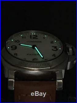 Panerai Luminor 44mm Stainless Steel PAM 114 Limited Edition 1700 Pieces
