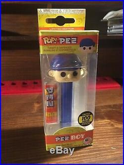 Pop! PEZ PEZ Boy BLUE HAIR Limited Edition 100 pieces