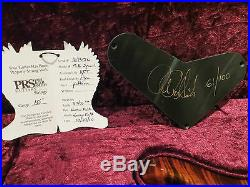 Prs Modern Eagle Limited Ltd. Black Gold One Piece Top Madagascar Rosewood Neck