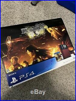 Ps4 Playstation 4 Sony Final Fantasy Type-0 Limited Edition One Piece Console