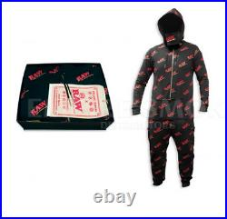 RAW One Piece Jump Suit Raw Rolling Paper Meduim Size LIMITED EDITION New