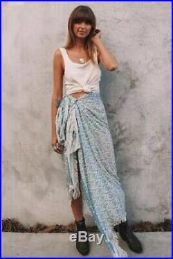 Rare Spell Designs Gypsy Boho Oracle Vintage Travel Scarf Wrap Sarong Throw Bnwt