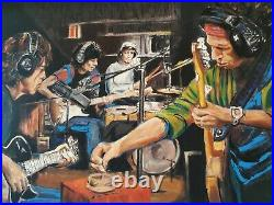 Ronnie Wood Conversation Piece II Limited edition canvas