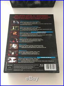 SAW 1-7 FINAL TRAP EDITION LIMITED 2.500 Pieces Blu-Ray Uncut/Unrated
