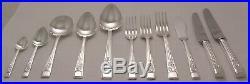 SPRINGTIME Design EBEN PARKER LTD Silver Service 126 Piece Canteen of Cutlery
