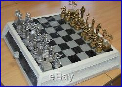 STAR WARS CHESS SET LIMITED EDITION 1 of 300 by Gentle Giant with pewter pieces